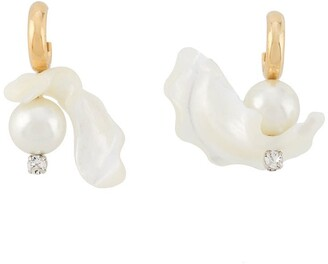 Simone Rocha Baroque pearl earrings