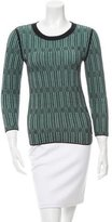 Tory Burch Patterned Knit Top