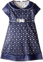 Us Angels Cut Out Cap Sleeve Skater Dress (Infant)