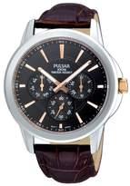 Pulsar Dark Brown Watch Pp6019x1