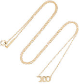 Jennifer Meyer Xo 18-karat Gold Necklace