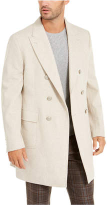 Tallia Men Slim-Fit Double-Breasted Overcoat