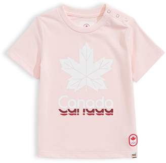 Canadian Olympic Team Collection Baby's Leaf Canada Tee
