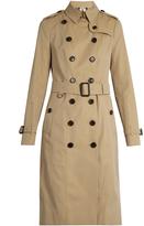 Burberry Sandringham extra-long gabardine trench coat