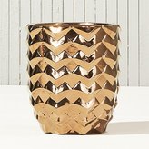 CB2 Riviera Copper Planter