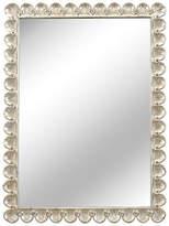 "Chelsea House 35""x46"" Scallop Mirror - Silver"