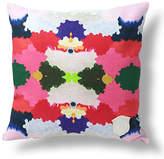 Kristi Kohut Keleidoscope 18x18 Linen Pillow