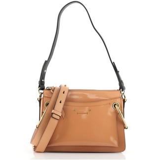 Chloé Roy Shoulder Bag Patent Small