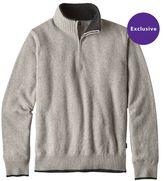 Patagonia Men's Reclaimed Wool 1/4-Zip Sweater
