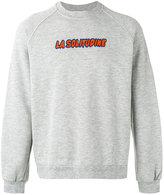 Sunnei 'La Solitudine' print sweatshirt - men - Cotton - S