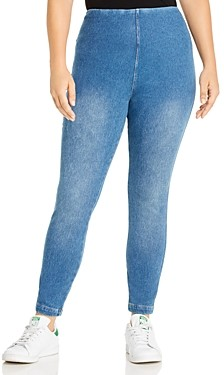 Lysse Plus Toothpick Legging Jeans in Mid Wash - 100% Exclusive