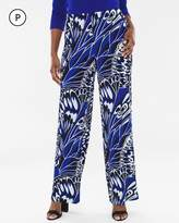 Travelers Classic Petite Butterfly Palazzo Pants