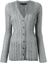 Proenza Schouler metallic button-down cardigan