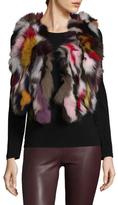 Adrienne Landau Multi Fur Vest