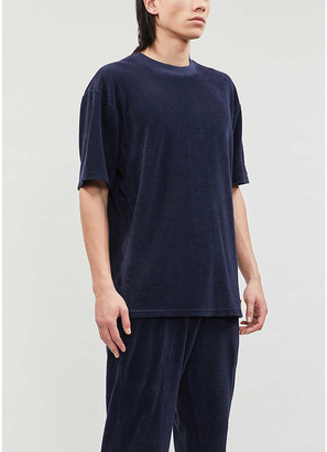 Russell Athletic Towelling organic-cotton T-shirt