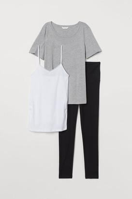 H&M MAMA 3-piece Set - Black
