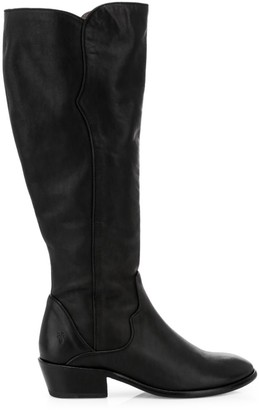 Frye Carson Knee-High Leather Riding Boots