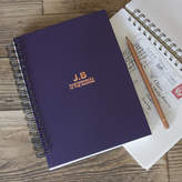 & So They Made Personalised Initials Memory Book