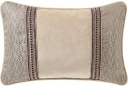 Charlton Homeâ® Bourkelands Cotton Chevron Lumbar Pillow Charlton HomeA
