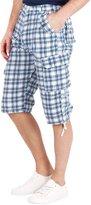KRISP Men's Bermuda Shorts (4684-WHTBLU-XXL)