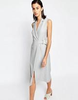 Warehouse Premium Vest Dress