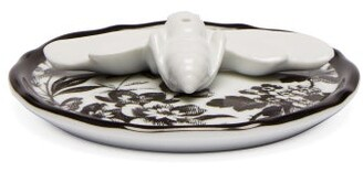 Gucci Herbarium Bee Porcelain Incense Stand - White Black