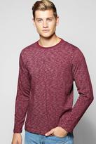 Boohoo Long Sleeve Space T Shirt
