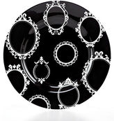 Martha Stewart Collection Black Picture Perfect Salad Plate