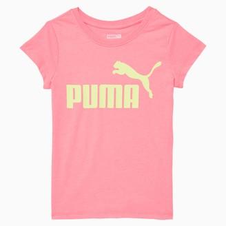 Puma No.1 Logo Girls' Graphic Tee JR