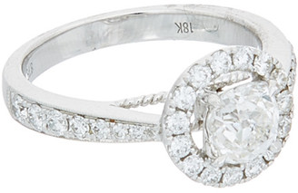 Diana M Fine Jewelry 18K 1.55 Ct. Tw. Diamond Ring
