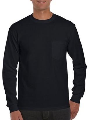 Gildan Men's Ultra Cotton Classic Long Sleeve Pocket T-Shirt