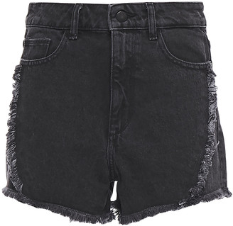 DL1961 Distressed Denim Shorts