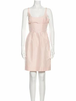 Marc Jacobs Silk Knee-Length Dress w/ Tags Pink