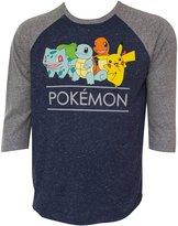 Pokemon Squad Men's Raglan shirt