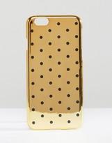 Asos iPhone 6 And 6s Polka Dot Metallic Case
