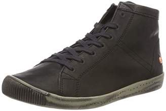 Softinos Women's Isleen Hi-Top Trainers, (Black 059)