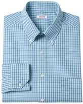 Izod Men's Regular-Fit Plaid Stretch Dress Shirt - Men