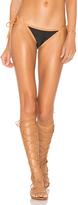 Vix Paula Hermanny Pipping Side Tie Bikini Bottom