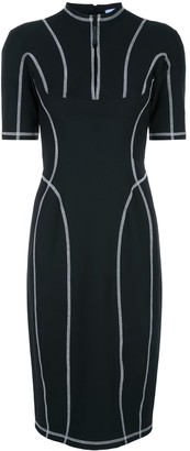 Thierry Mugler Scuba robe mid-length dress