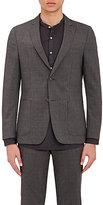 Officine Generale Men's Wool Two-Button Sportcoat-GREY