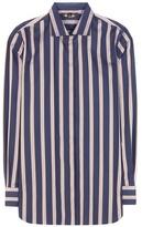 Loro Piana Kara Striped Cotton Shirt