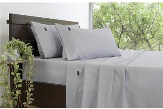 Ardor 3000TC Cotton Rich Silver Sheet Set Queen