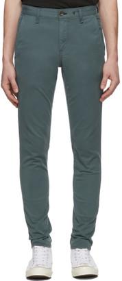Rag & Bone Green Fit 1 Chino Trousers