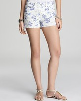 Paige Denim + Liberty Shorts - Silverlake in Sophie Alice Print