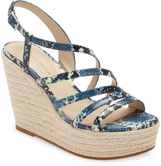 Pelle Moda Ritter Platform Wedge Sandal