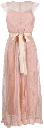 RED Valentino tulle lace midi dress