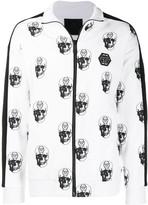 Philipp Plein Skull logo jacket