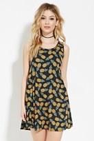 Forever 21 Pineapple Print Mini Dress