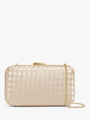 John Lewis & Partners Weaved Clutch Bag