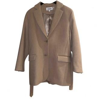 Weekday Beige Wool Coat for Women